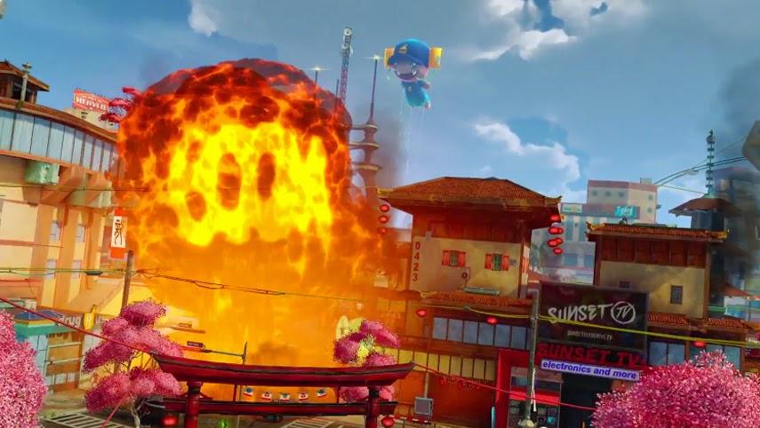 Tráiler Gameplay de lanzamineto de Sunset Overdrive