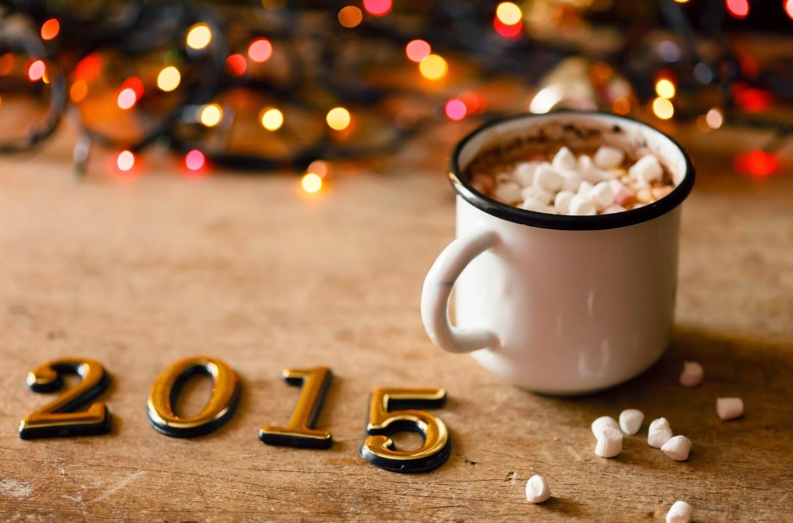 Happy New Year 2015 Coffee Mug HD Image for Whatsap