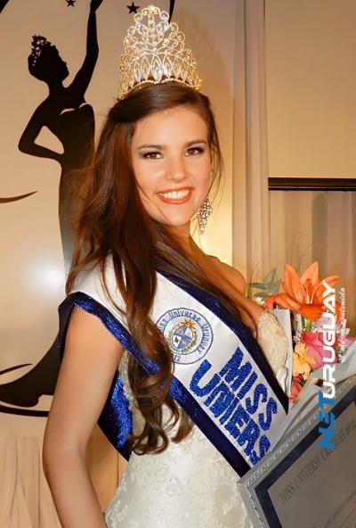 Miss Universe Universo Uruguay 2012 winner Camila Vezzoso