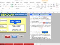 Download Aplikasi Cetak Kartu NISN Microsoft Excel