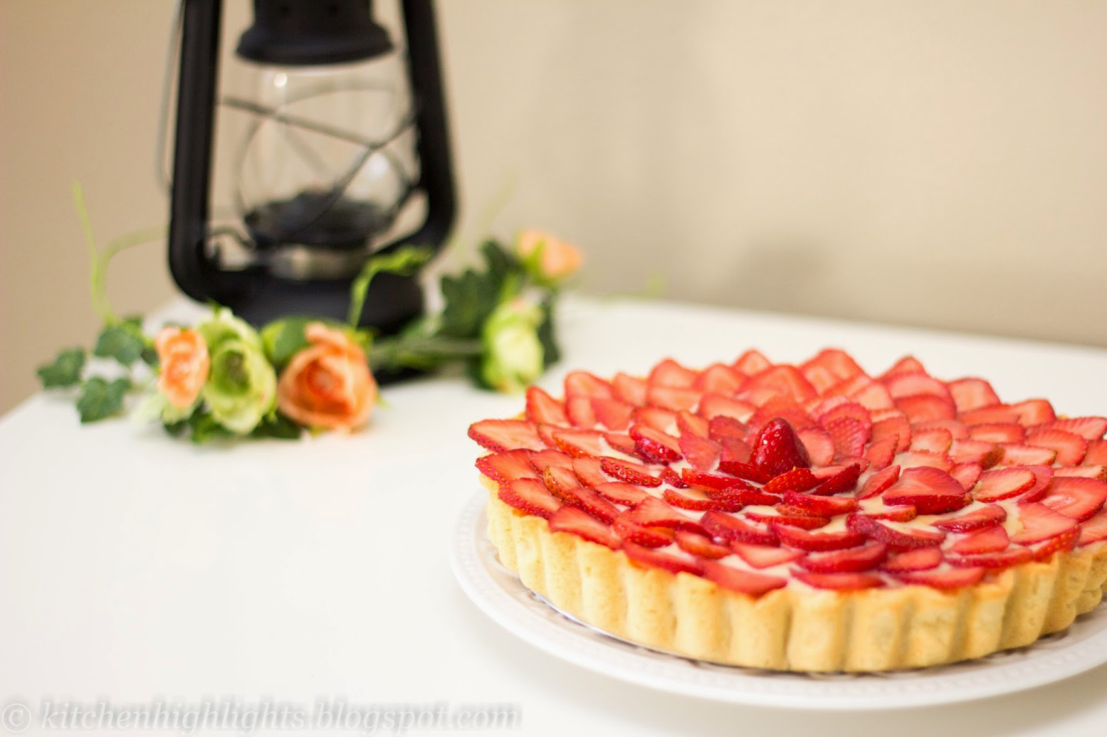 This tart is delicious and elegant and can be served to a lovely dinner party and sure to impress