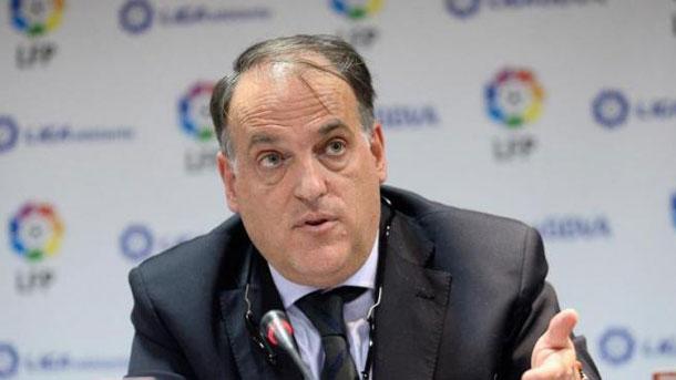 Tebas asegura que algo está mal en la normativa de la FIFA
