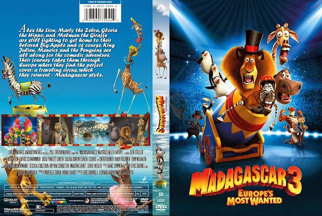 Madagascar 3 De Marcha Por Europa DVD