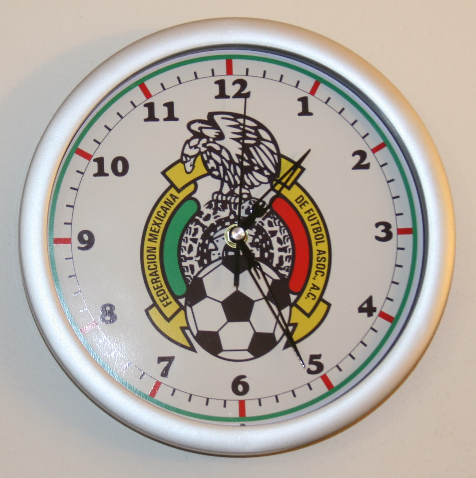 Custom wall clocks with logo miami sign makers my logo on a promotional clock custom and amipublicfo Gallery