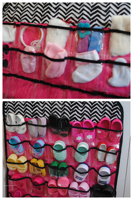How to Keep Doll Accessories Organized, from Serenity Now