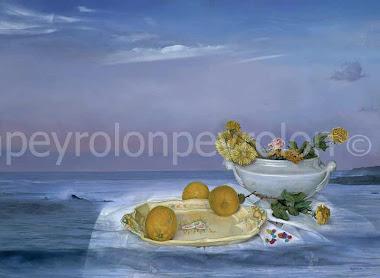 Flores,, limones, caramelos y el mar  año 1995