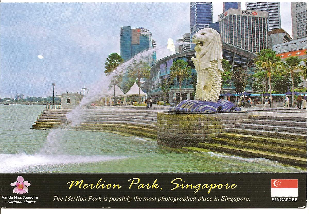 how to get to merlion park singapore