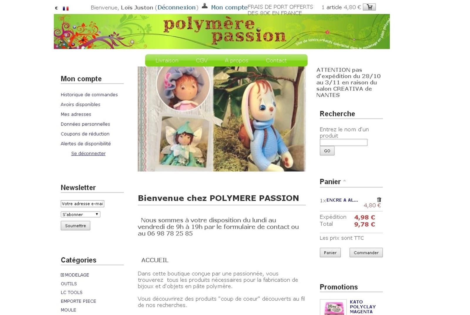 polymère passion site
