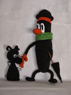 Мистер Морковь и его верный пес (крючок)