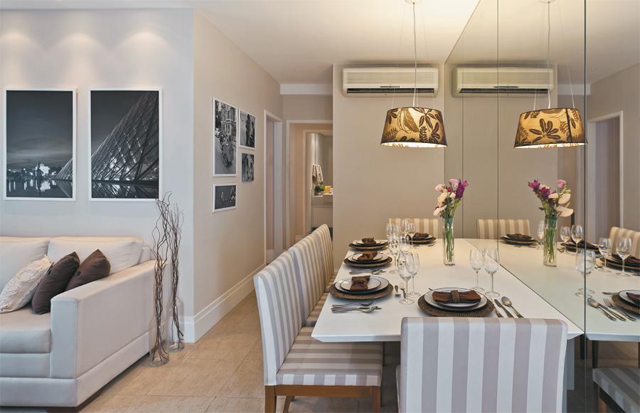 Sala De Jantar Apartamento ~ prova de que com uma boa imaginação, qualquer cantinho pode ser