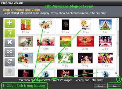 Viết chữ trong phần mềm Proshow Producer 4.5.2929 Full Crack + Keygen + Hướng Dẫn tạo Slide Show ảnh