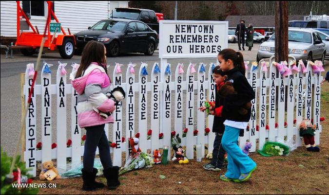 names of Newton Sandy Hook elementary school shootings
