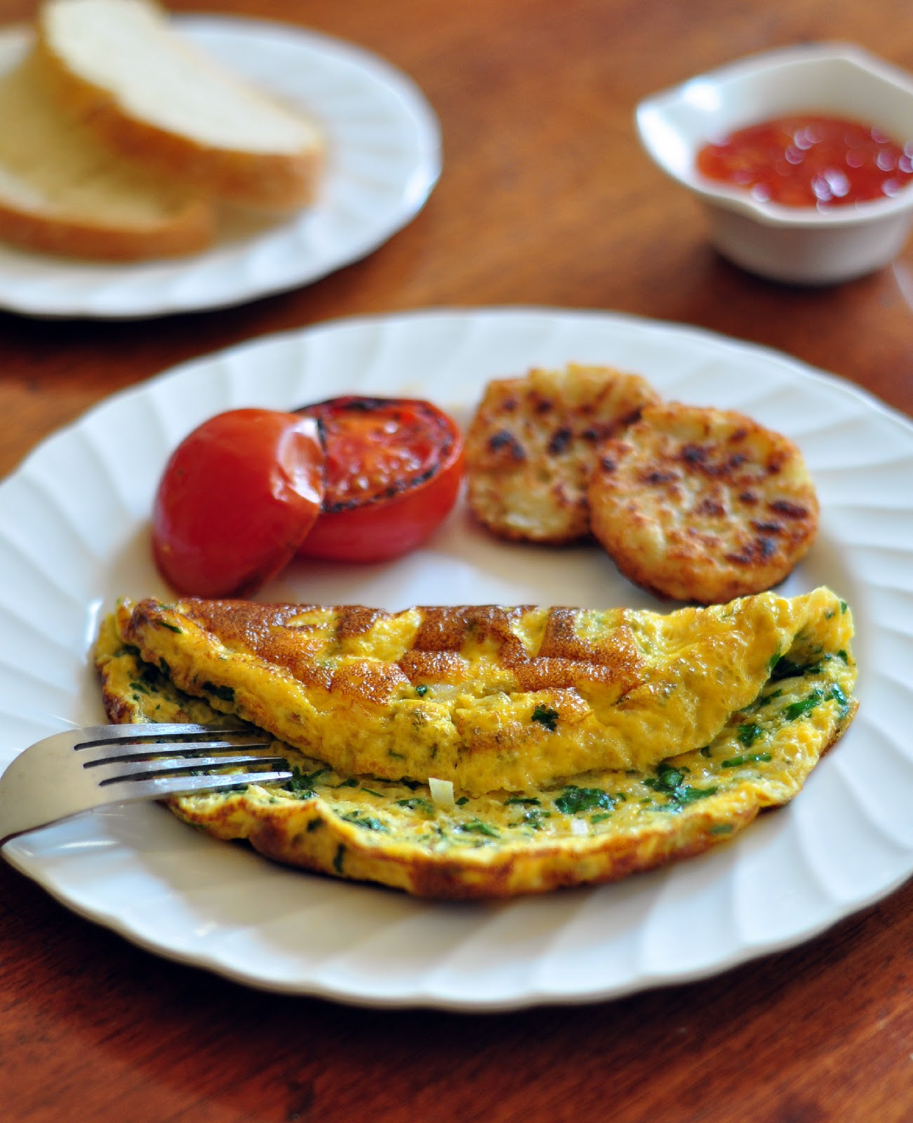Served with love: Indian Omelet