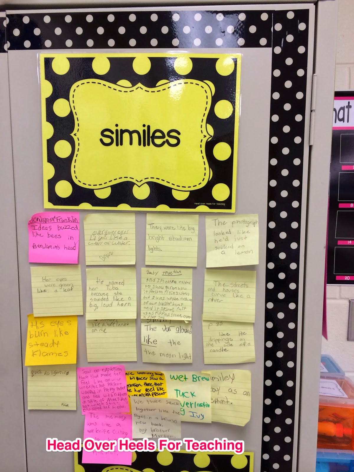 http://www.teacherspayteachers.com/Product/Figurative-Language-Bulletin-Board-Interactive-747468