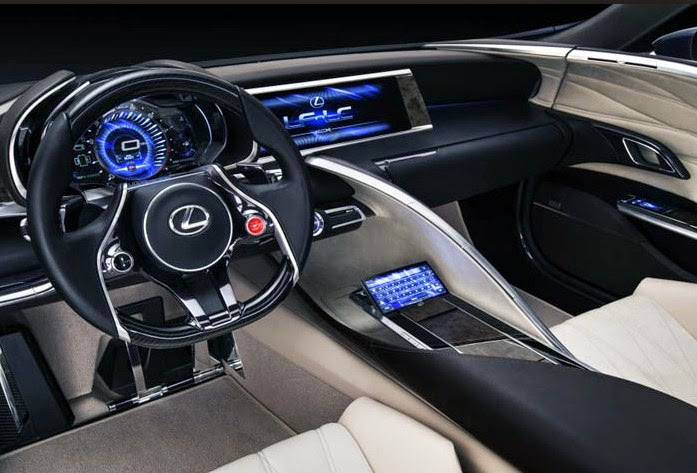 2016 Lexus TX Interior