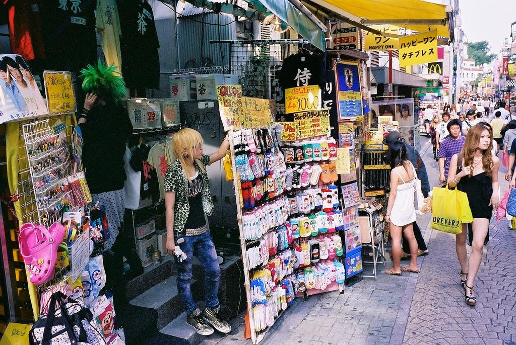 Moda en Harajuku
