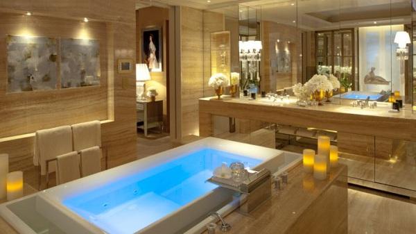 Luxury life design paris best luxury hotels - Plus belle salle de bain du monde ...