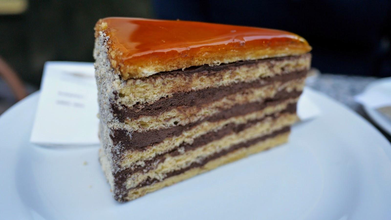 Cafe Gerbaud budapest cake