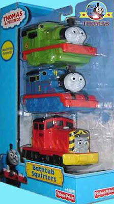 Favorite character Thomas splish splash splosh floating bath toys bathroom playtime fun water games