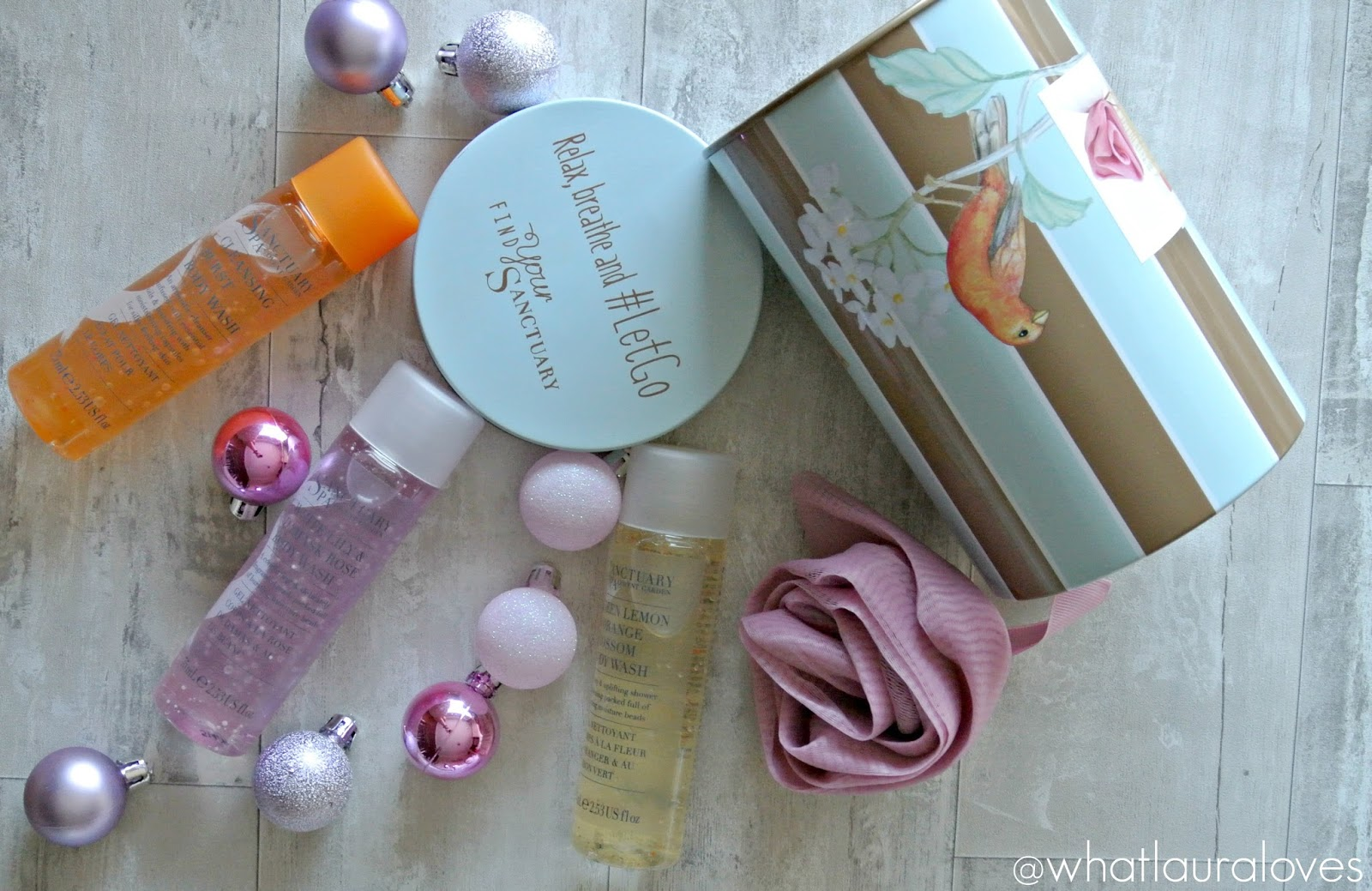 Christmas Gift Guide Sanctuary Spa Little Tin of Treats