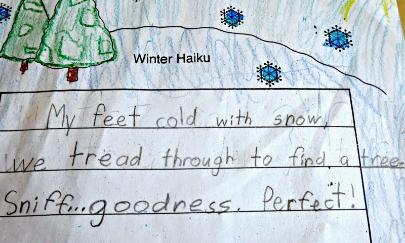 Winter Haiku - Third Grade
