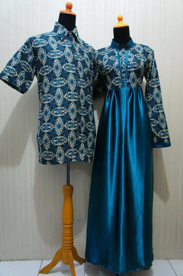 Contoh Model Sarimbit Gamis Batik Pesan Jahit Kr Grosir