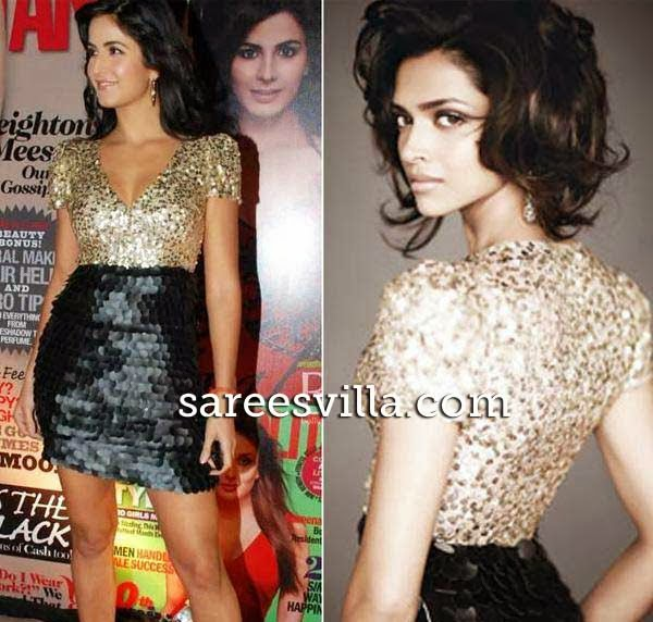 Deepika Padukone and Katrina Kaif in same dress