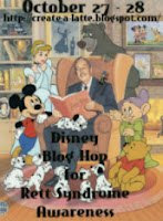 Disney Blog Hop for Rett Syndrome