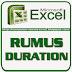 Rumus DURATION