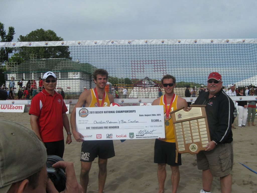 Ben and Christian Beach National Campions