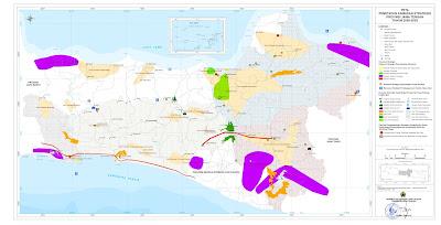 Peta Penetapan Kawasan Strategis Provinsi Jawa Tengah 2009-2029
