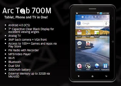 Arc Mobile TAB 700M