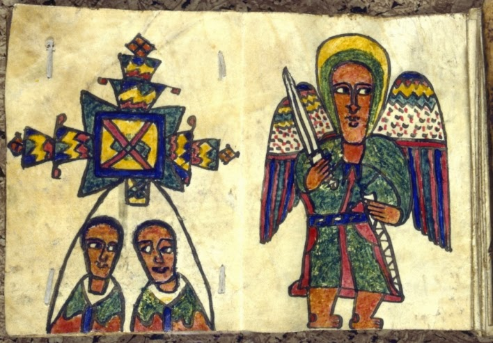 Ethiopian Orthodox Ancient Bible Illustration
