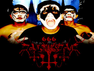 Tanduk Setan Band Black Metal Bireun Aceh Indonesia Foto Wallpaper