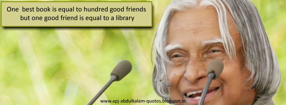 Dr A.P.J.Abdul kalam Friendship quotes