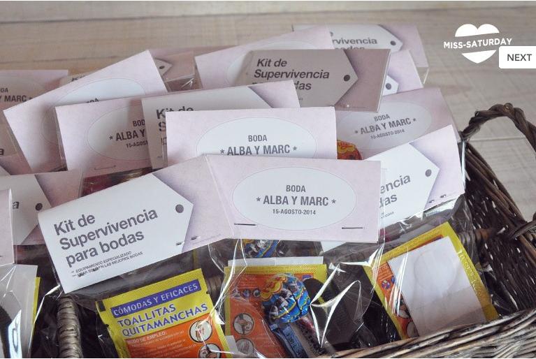 Set De Baño Mercadona:Blog de bodas – Yo dire que si: ¡SOS! Kits de emergencia o