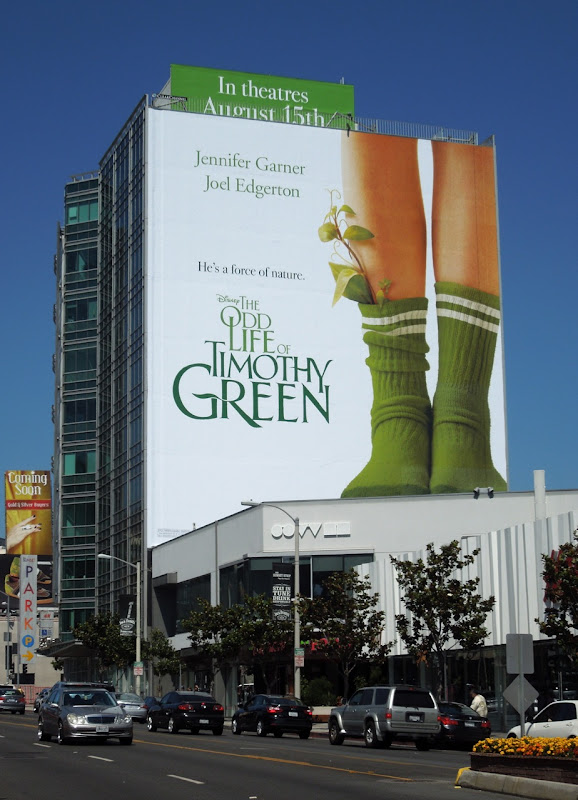 Odd Life of Timothy Green billboard