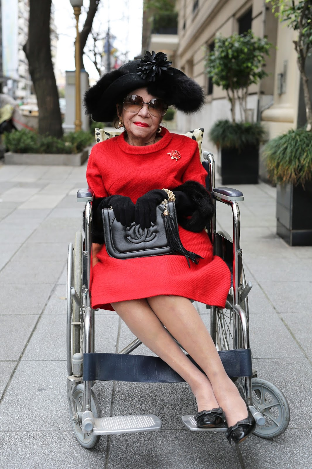 Streetstyle cực chất của những fashionista bô lão ảnh 10