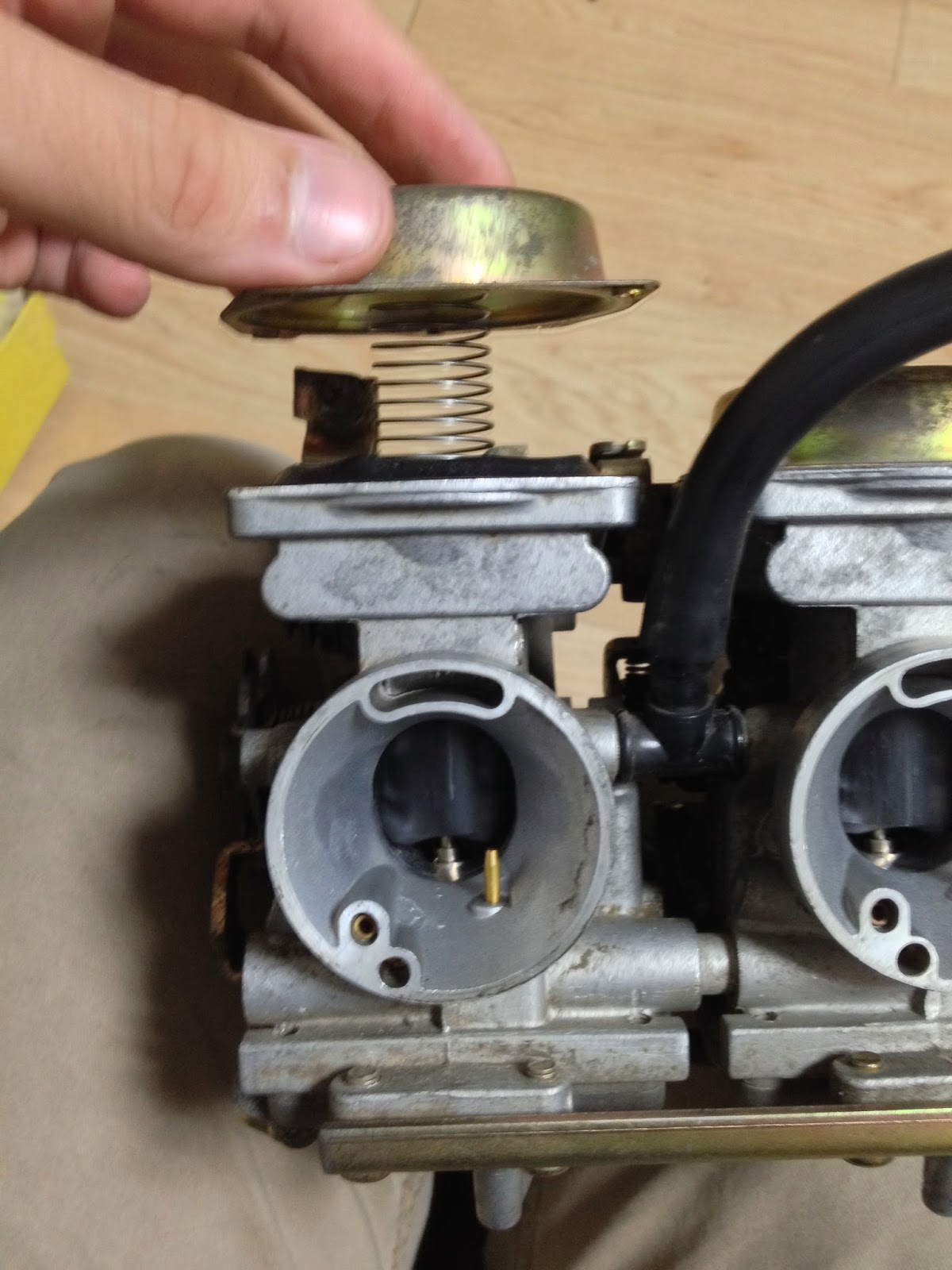 Liancourt Talks!: How to Clean/Rebuild a Motorcycle Carburetor