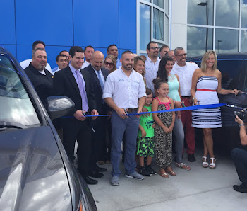 Ribbon Cut at. FX Honda