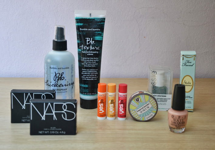 Haul: Nars, Yes TO, Benefit, OPI, Essie, Too Faced, Bumble&Bumble.