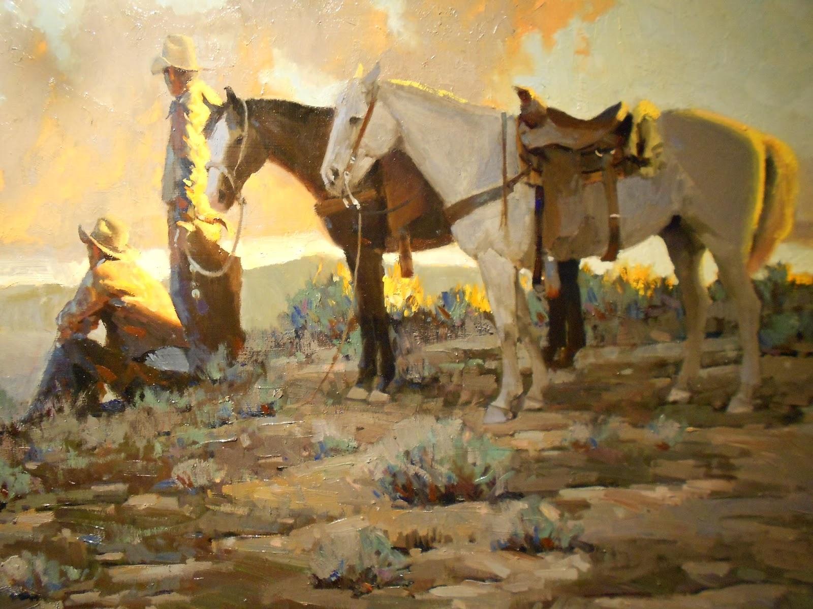 Famous cowboy art - photo#2