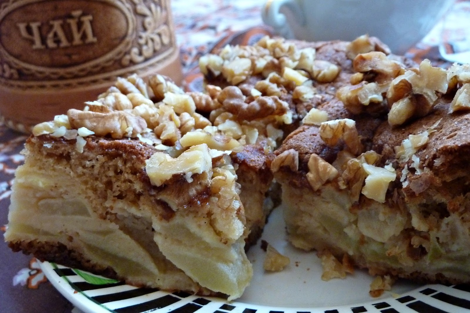 Russian Apple Spice Cake Sharlotka Recipes — Dishmaps