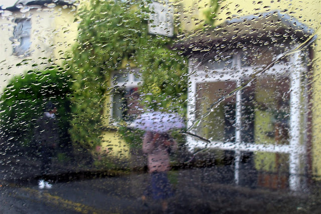 a rainy day in Galway city
