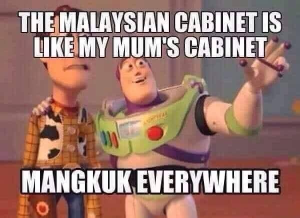 The Malaysian Cabinet