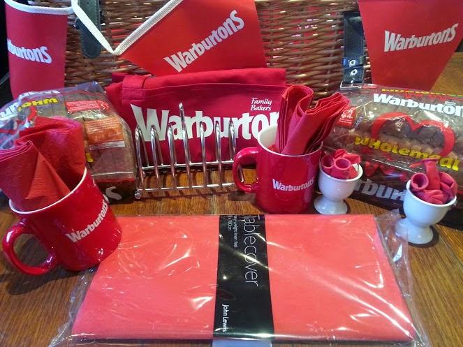 Warburtons Big Red Breakfast Feb 9th 2015