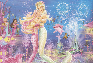 Mewarnai Gambar Barbie In A Mermaid Tale