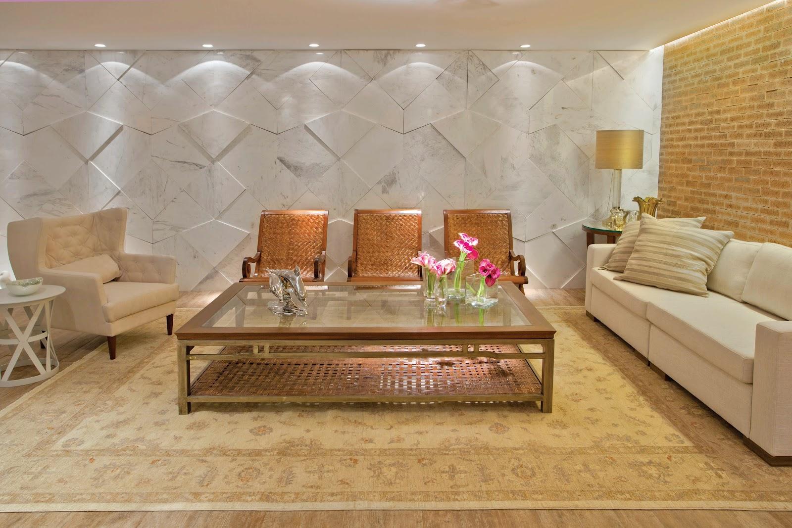 Decoração de interiores Revestimento 3d paredes decoradas:PaP Como  #AD1E60 1600 1067