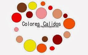 Forma y color el color colores c lidos y colores fr os - Colores frios y colores calidos ...