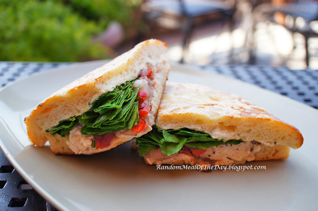 ... Meal Of The Day: Roasted Turkey Artichoke Panini at Panera Bread